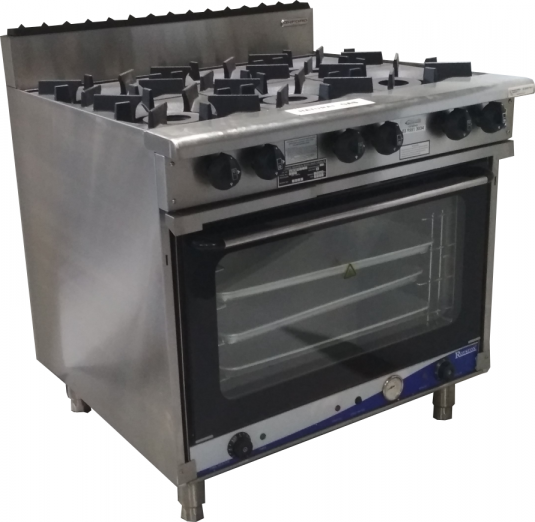 Oxford Series 6 Burner Cooktop w/ ROY-8A Electric Oven 6BBT-OV15A