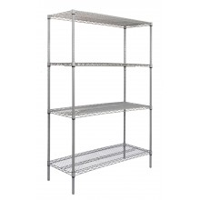 Titan Multipurpose Wire Shelving - 455mm Deep