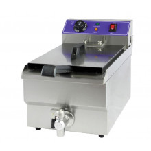 Single Tank Fryer with Oil Tap