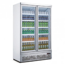 Mitchel  Refrigeration 2 Door Glass Drinks Refrigerator