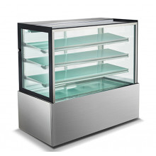 Mitchel Refrigeration 1500mm Straight Glass Cold Display - 4 Shelves
