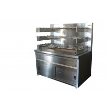 9 ROD CHARCOAL CHICKEN ROTISSERIE 9RODS