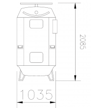 Pig Oven PO-1000