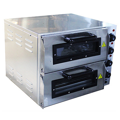 DOUBLE LEVEL BENCHTOP ELECTRIC PIZZA OVEN PIZZA-2L